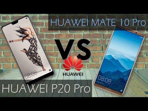 huawei p20 pro vs mate 10 pro